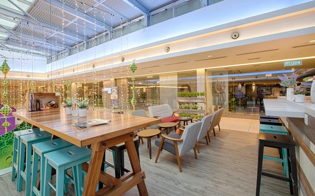 Sol 28, Jalan P Ramlee, Commercial, Interior Designer, GI Design Sdn Bhd, Scandinavian, Food, Food Court, Restaurant, Dining Table, Furniture, Table, Wood, Chair