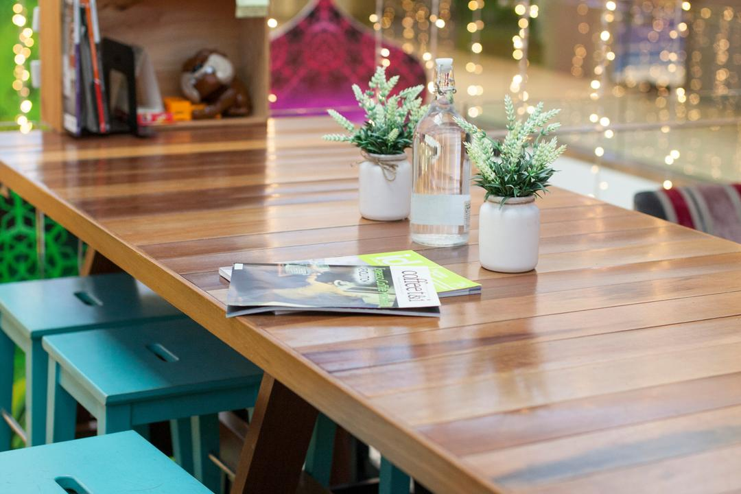 Sol 28, Jalan P Ramlee, GI Design Sdn Bhd, Scandinavian, Commercial, Coffee Table, Furniture, Table, Dining Table, Book, Plywood, Wood