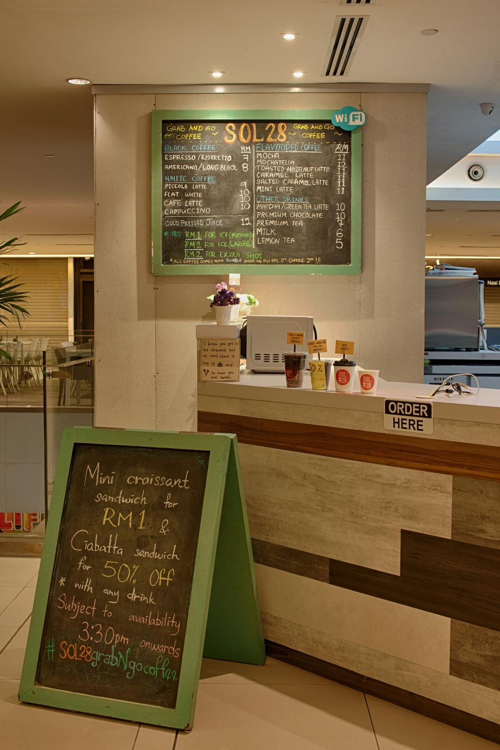 Sol 28, Jalan P Ramlee, Commercial, Interior Designer, GI Design Sdn Bhd, Scandinavian, Blackboard