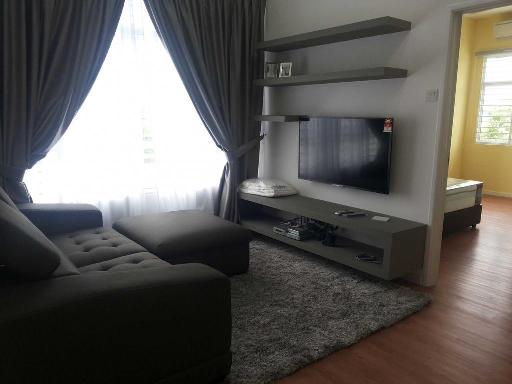 Contemporary, Condo, Condo MX, Interior Designer, Kah Yong Construction & Engineering Sdn Bhd, Modern, Couch, Furniture, Indoors, Room