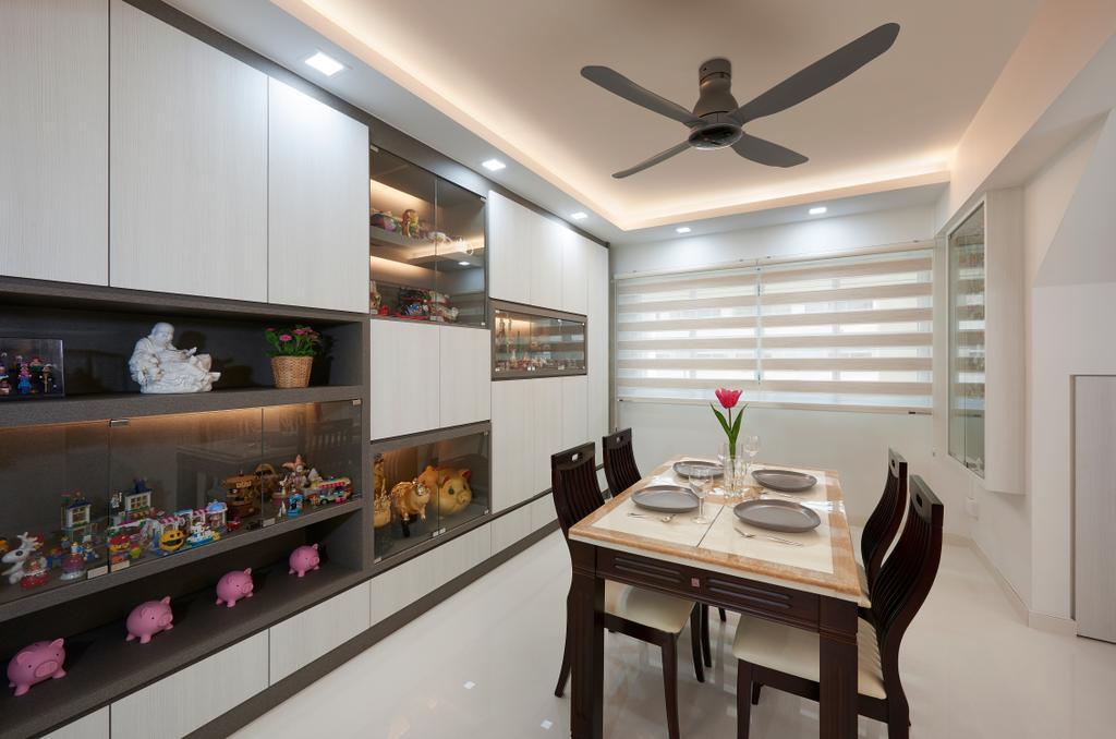 Modern, HDB, Dining Room, Choa Chu Kang (Block 604), Interior Designer, AC Vision Design