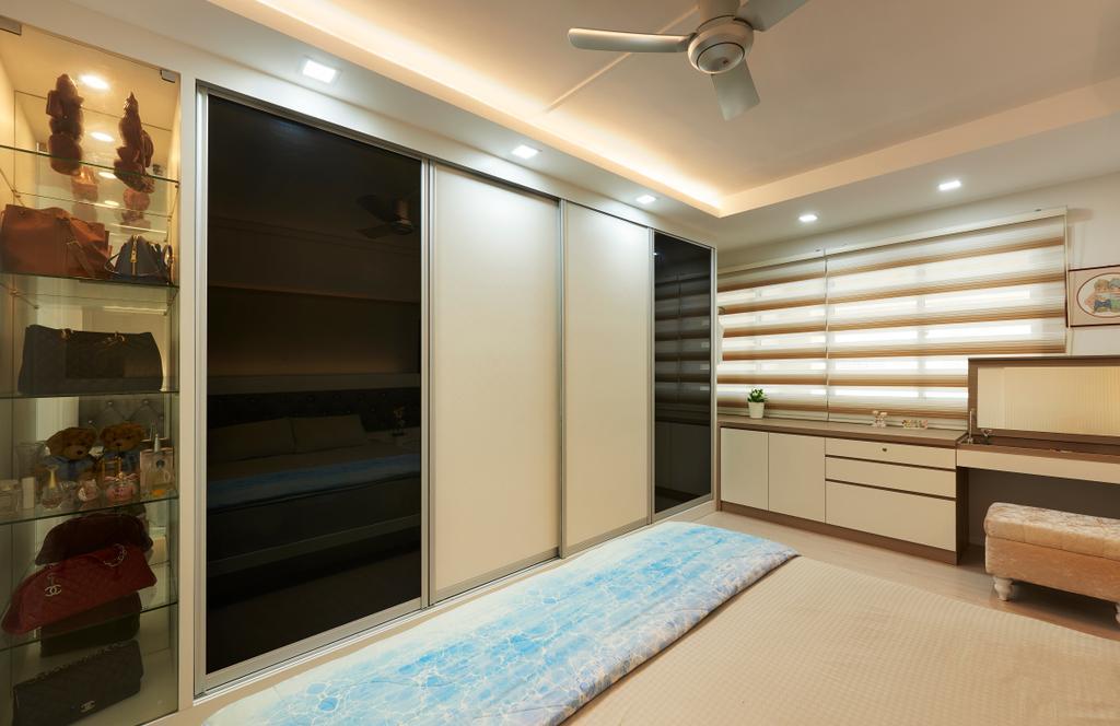 Modern, HDB, Bedroom, Choa Chu Kang (Block 604), Interior Designer, AC Vision Design