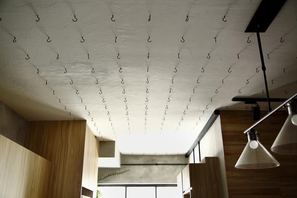 Industrial, HDB, Kitchen, Serangoon, Interior Designer, Free Space Intent, Wooden Laminate, Flooring