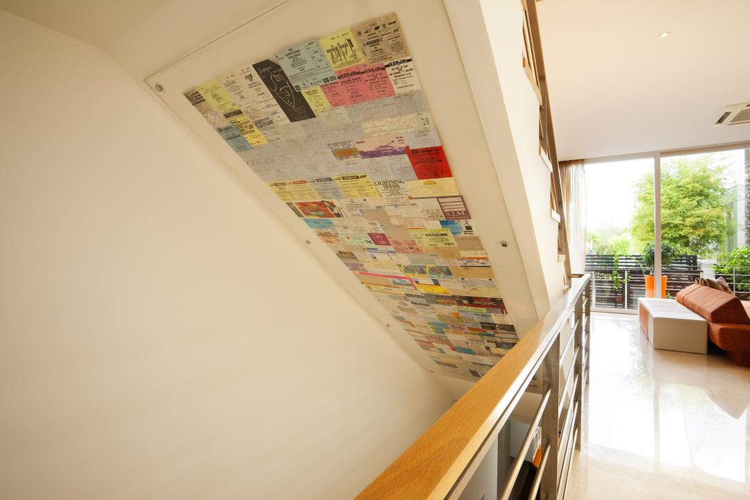Lichi Avenue, Free Space Intent, Retro, Dining Room, Landed, Staircase, Marble Floor, Paper, Text, Ticket, Window, Furniture