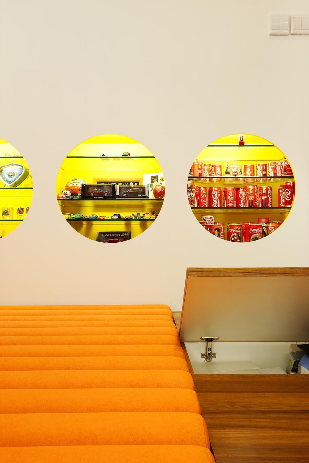 Retro, Landed, Study, Lichi Avenue, Interior Designer, Free Space Intent, Display Shelf, Storage