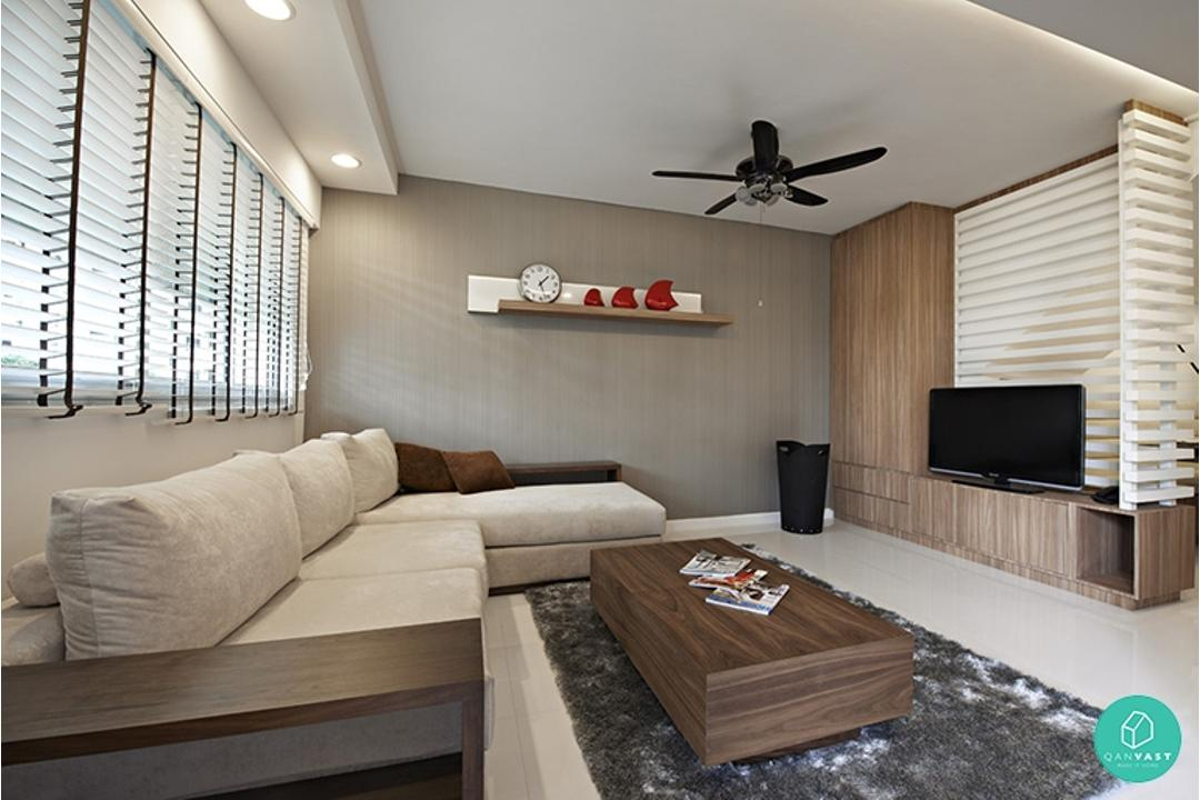 10 stylish minimalist home designs for your hdb condo - Minimalist living room ideas ...