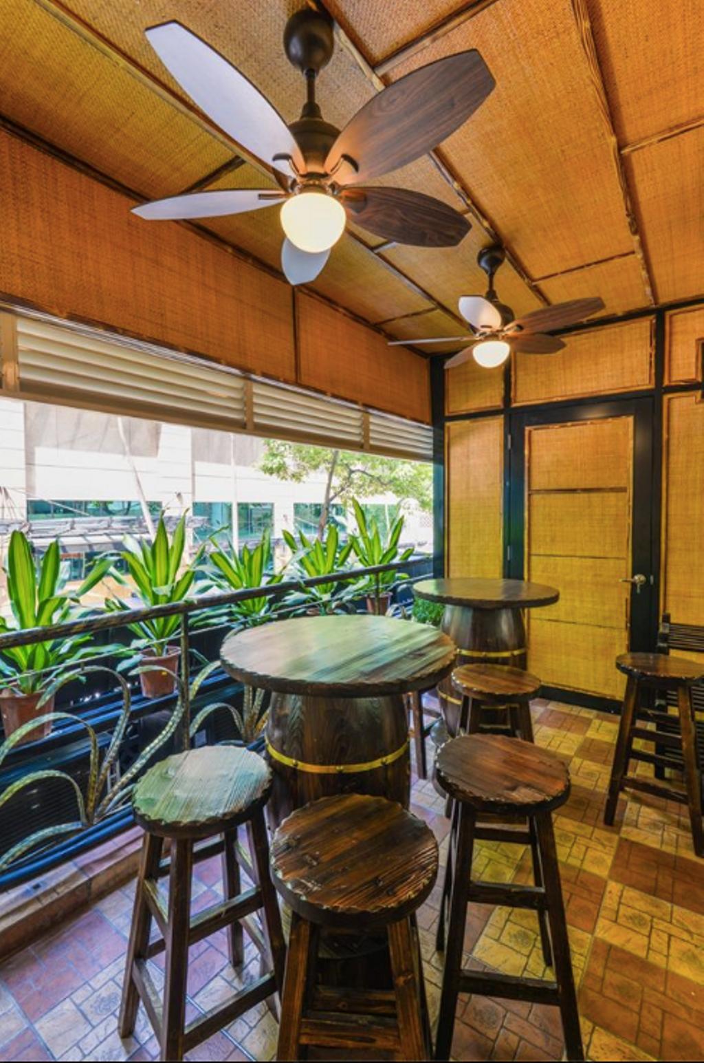 Shun De Gong Restaurant, Bukit Bintang, Commercial, Interior Designer, GI Design Sdn Bhd, Industrial, Traditional, Chair, Furniture, Dining Table, Table, Bowl, Balcony