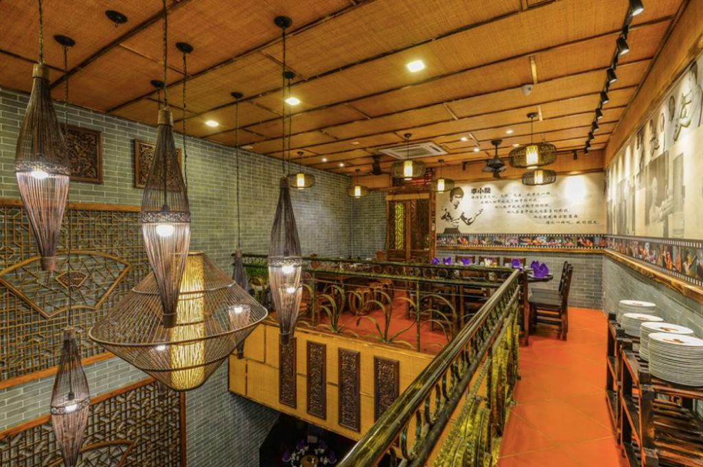 Shun De Gong Restaurant, Bukit Bintang, Commercial, Interior Designer, GI Design Sdn Bhd, Industrial, Traditional, Chandelier, Lamp