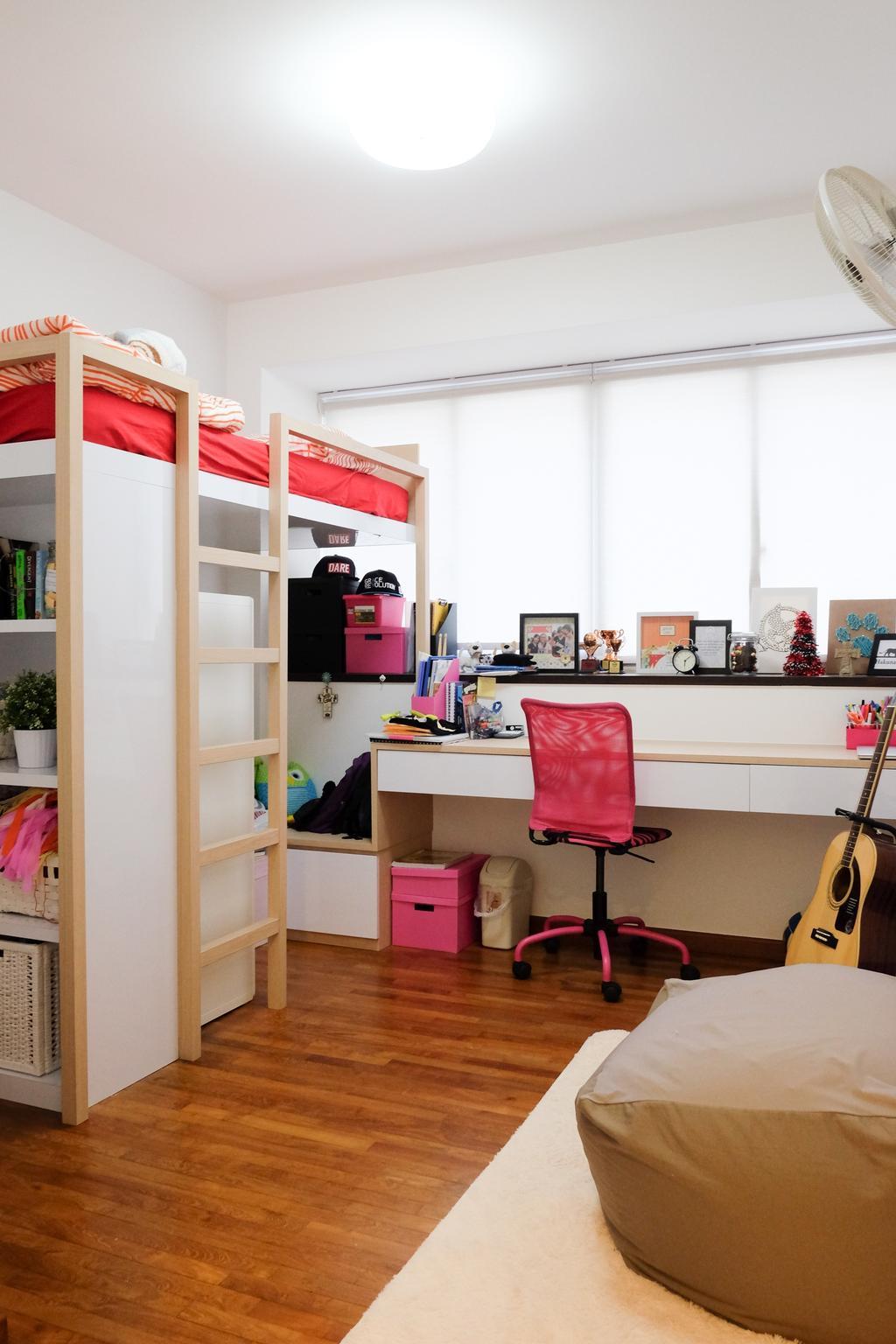 Minimalistic, Condo, Bedroom, Esparis, Interior Designer, Nitty Gritty Interior
