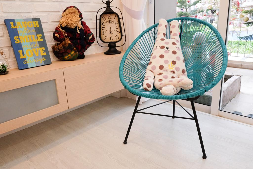 Minimalistic, Condo, Living Room, Esparis, Interior Designer, Nitty Gritty Interior