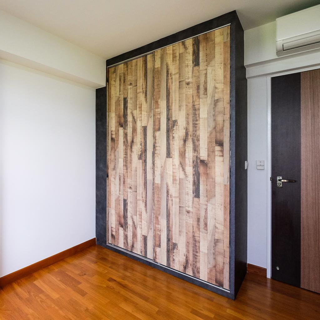 Industrial, HDB, Bedroom, Punggol Way (Block 315B), Interior Designer, Nitty Gritty Interior