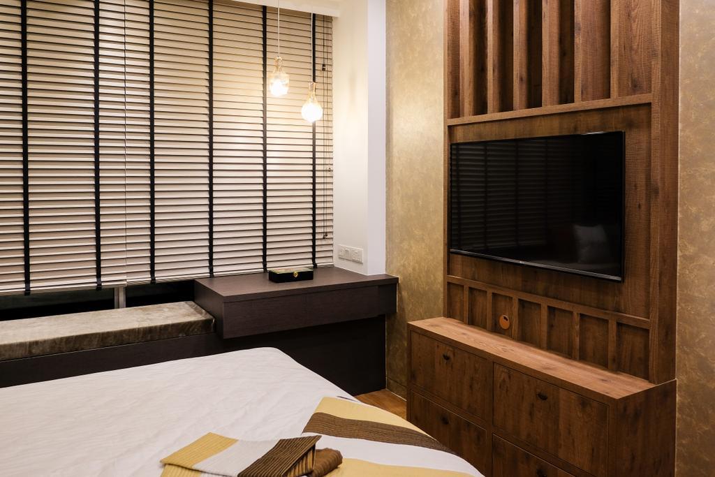 Scandinavian, Condo, Bedroom, RV Residence, Interior Designer, Nitty Gritty Interior