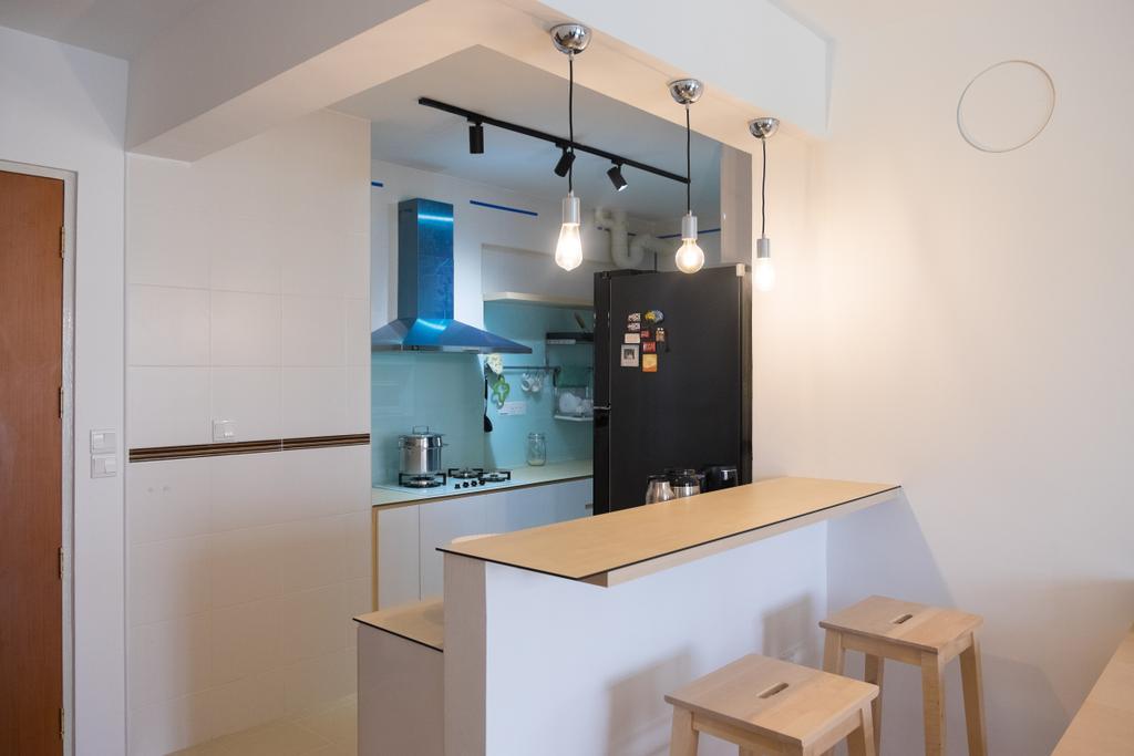 Minimalistic, HDB, Dining Room, Punggol Edgefield (Block 617A), Interior Designer, Nitty Gritty Interior