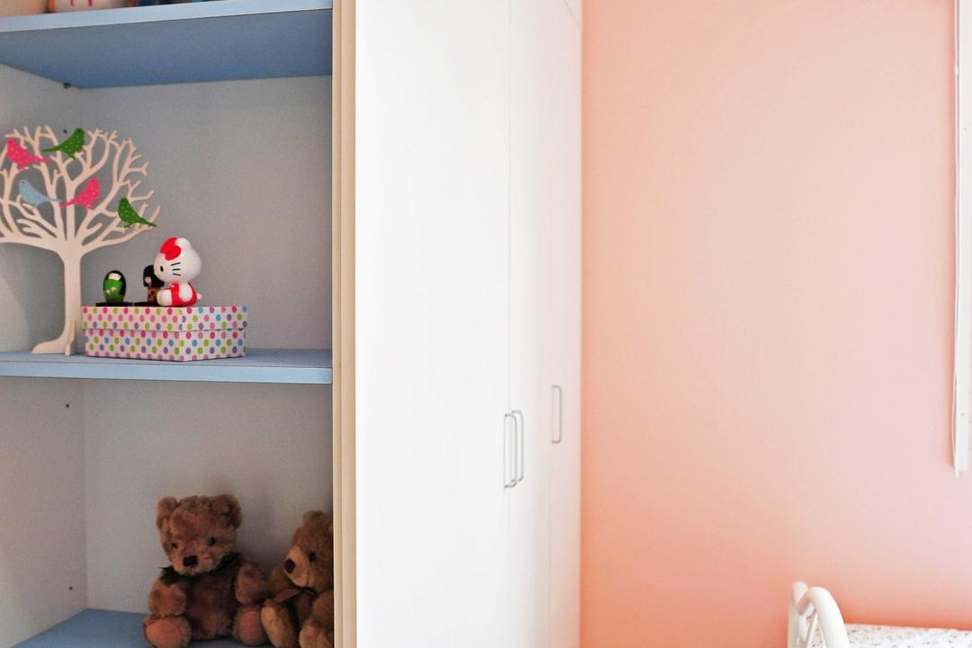 Casa Green - Cheras, Spazio Design Sdn Bhd, Modern, Minimalistic, Bedroom, Condo, Teddy Bear, Toy, Human, People, Person