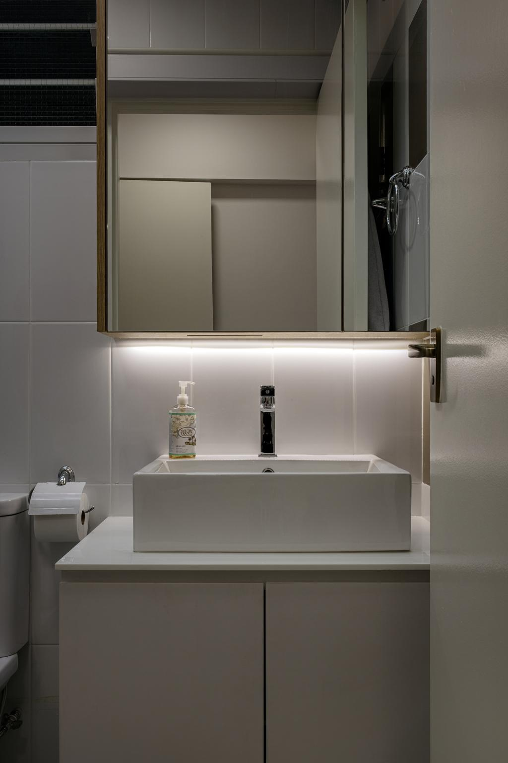 Modern, HDB, Bathroom, Sumang Walk (Block 217), Interior Designer, Posh Home, Scandinavian, Paper, Paper Towel, Tissue, Towel