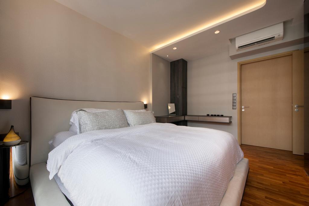 Eclectic, Condo, Bedroom, Twin Waterfalls, Interior Designer, Ascenders Design Studio, Bed, Furniture, Indoors, Interior Design, Room