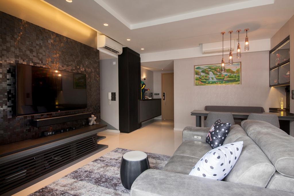 Eclectic, Condo, Living Room, Twin Waterfalls, Interior Designer, Ascenders Design Studio, Couch, Furniture, Indoors, Room