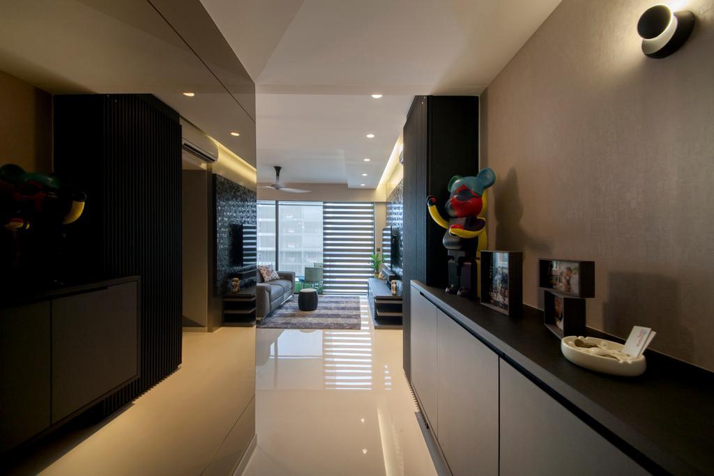 Eclectic, Condo, Living Room, Twin Waterfalls, Interior Designer, Ascenders Design Studio, Bathroom, Indoors, Interior Design, Room
