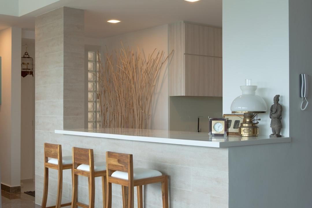 Holland Hill, Dyel Design, Contemporary, Dining Room, Condo, High Chairs, Bar Stools, Carpet, White Counter, Indoors, Interior Design, Room, Dining Table, Furniture, Table, Bar Stool