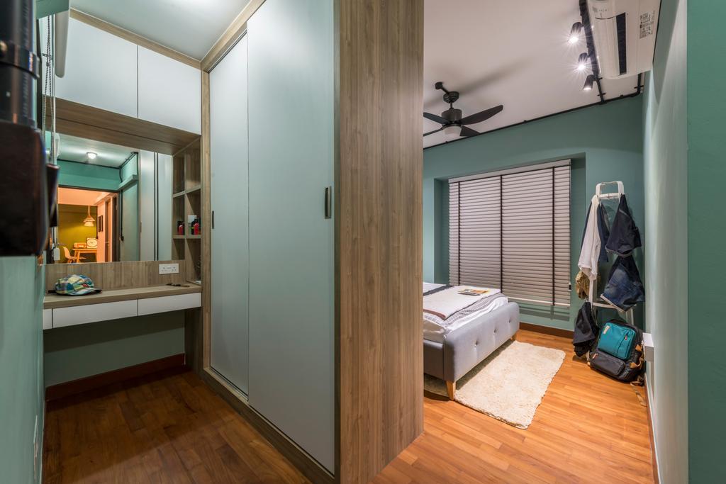 Eclectic, HDB, Bedroom, Skyville @ Dawson, Interior Designer, Voila