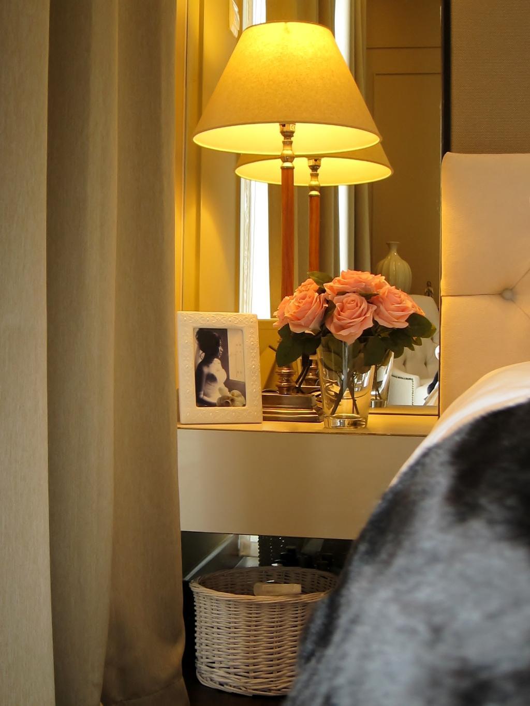 Modern, Condo, Bedroom, Residences @ Evelyn, Interior Designer, Designe Couture, Photoframe, Phott Frame, Bedside Lamp, Table Lamp