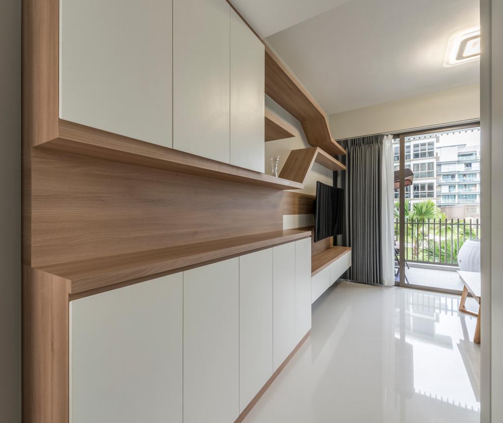 Scandinavian, Condo, Living Room, The Inflora, Interior Designer, Starry Homestead, Hardwood, Wood