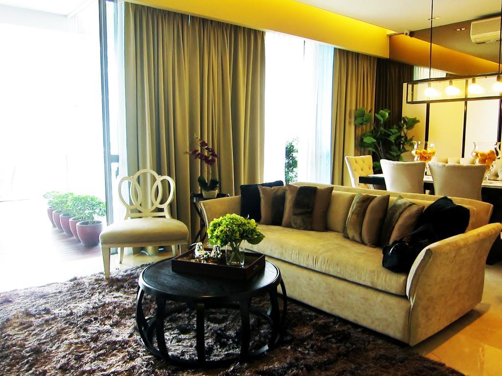 Modern, Condo, Living Room, Residences @ Evelyn, Interior Designer, Designe Couture, Carpet, Sofa, Hanigng Light, Curtains, Coffee Table