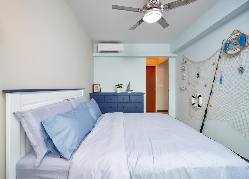 Modern, HDB, Bedroom, Fernvale Rivergrove, Interior Designer, Absolook Interior Design, Furniture, Indoors, Interior Design, Room
