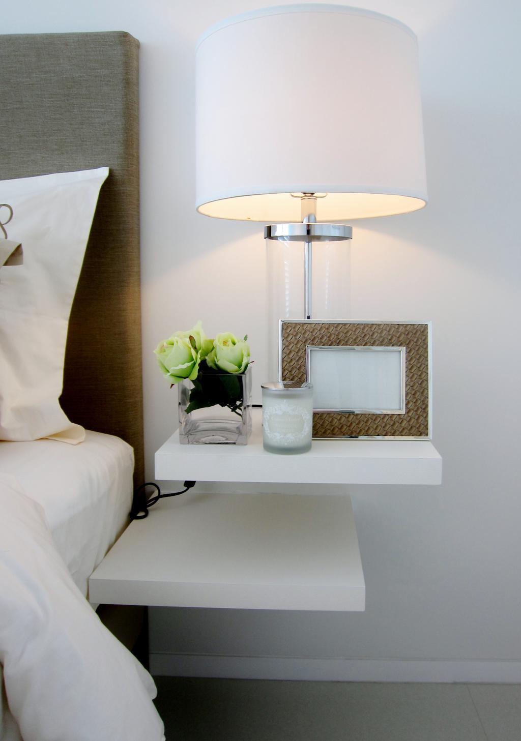 Modern, Condo, Bedroom, Scotts Square 2, Interior Designer, Designe Couture, Bedside Lamp, Table Lamp, Bedside Table