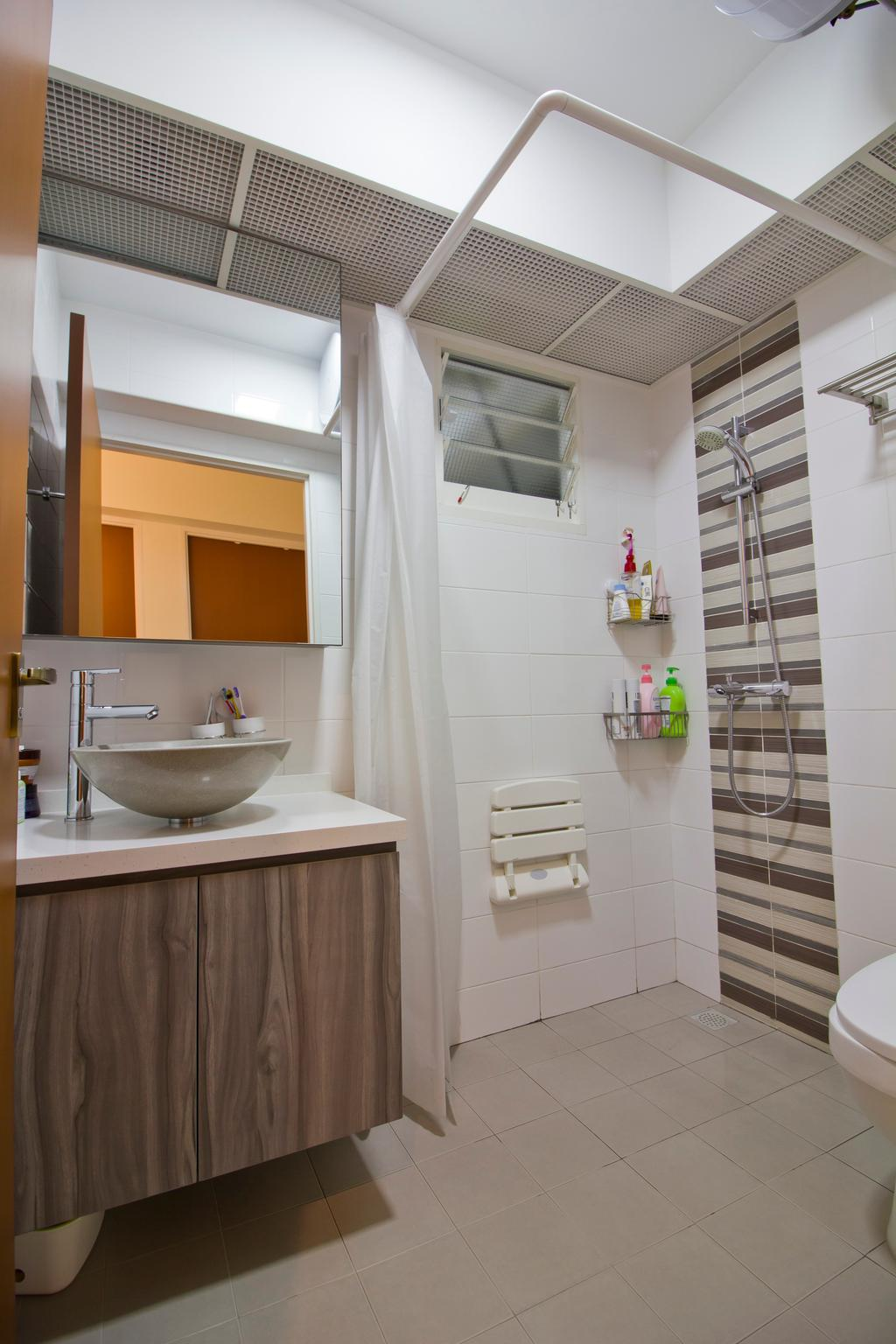 Modern, HDB, Bathroom, Punggol Drive (Block 664B), Interior Designer, MET Interior, Indoors, Interior Design, Room