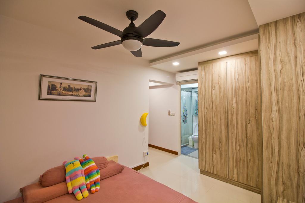 Modern, HDB, Bedroom, Punggol Drive (Block 664B), Interior Designer, MET Interior, Indoors, Interior Design, Room