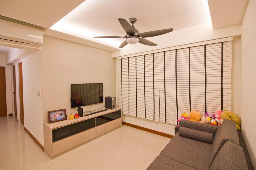 Modern, HDB, Living Room, Punggol Drive (Block 664B), Interior Designer, MET Interior, Propeller, Indoors, Room