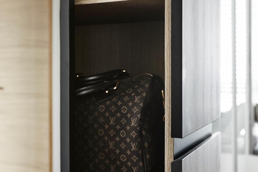 D'Leedon, Dan's Workshop, Industrial, Bedroom, Condo, Cabinet Side Storage, Cabinet Storage, Bags Display, Wardrobe, Cabinet