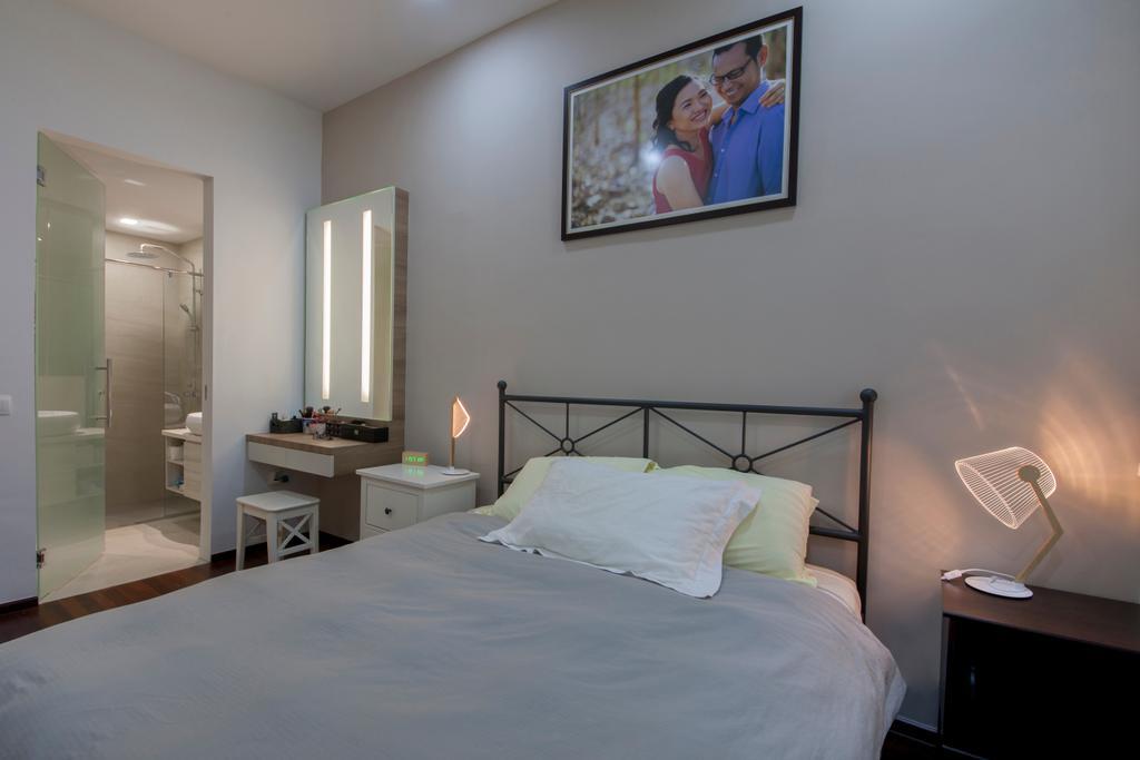 Modern, Condo, Bedroom, Country Park, Interior Designer, Space Define Interior, Contemporary, Human, People, Person, Bed, Furniture, Indoors, Interior Design, Room