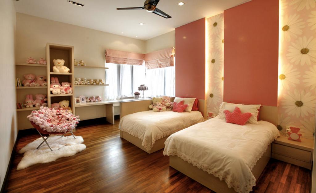 Contemporary, Landed, Bedroom, Kiara View Phase 4 Show House, Interior Designer, Hoe & Yin Design Studio, Indoors, Interior Design, Room