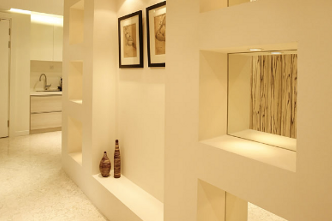 Semantan Condo, Hoe & Yin Design Studio, Contemporary, Condo, Paper, Sink