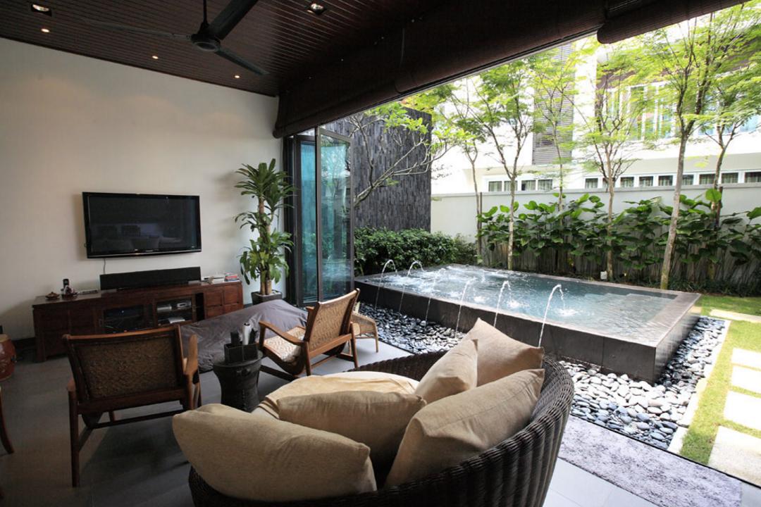 Mutiara Damansara Bungalow by Hoe & Yin Design Studio