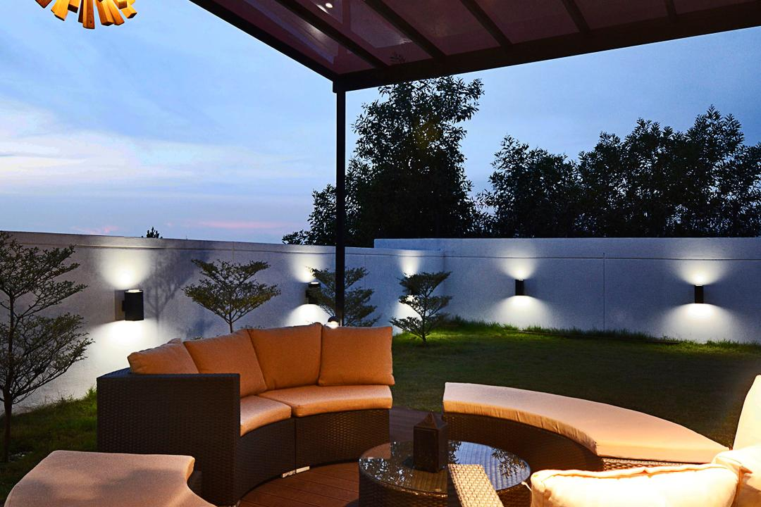 Semi-D@ Kinrara Residence Ambrosia, Torch Empire, Modern, Contemporary, Garden, Landed, Couch, Furniture, Terrace, Chair