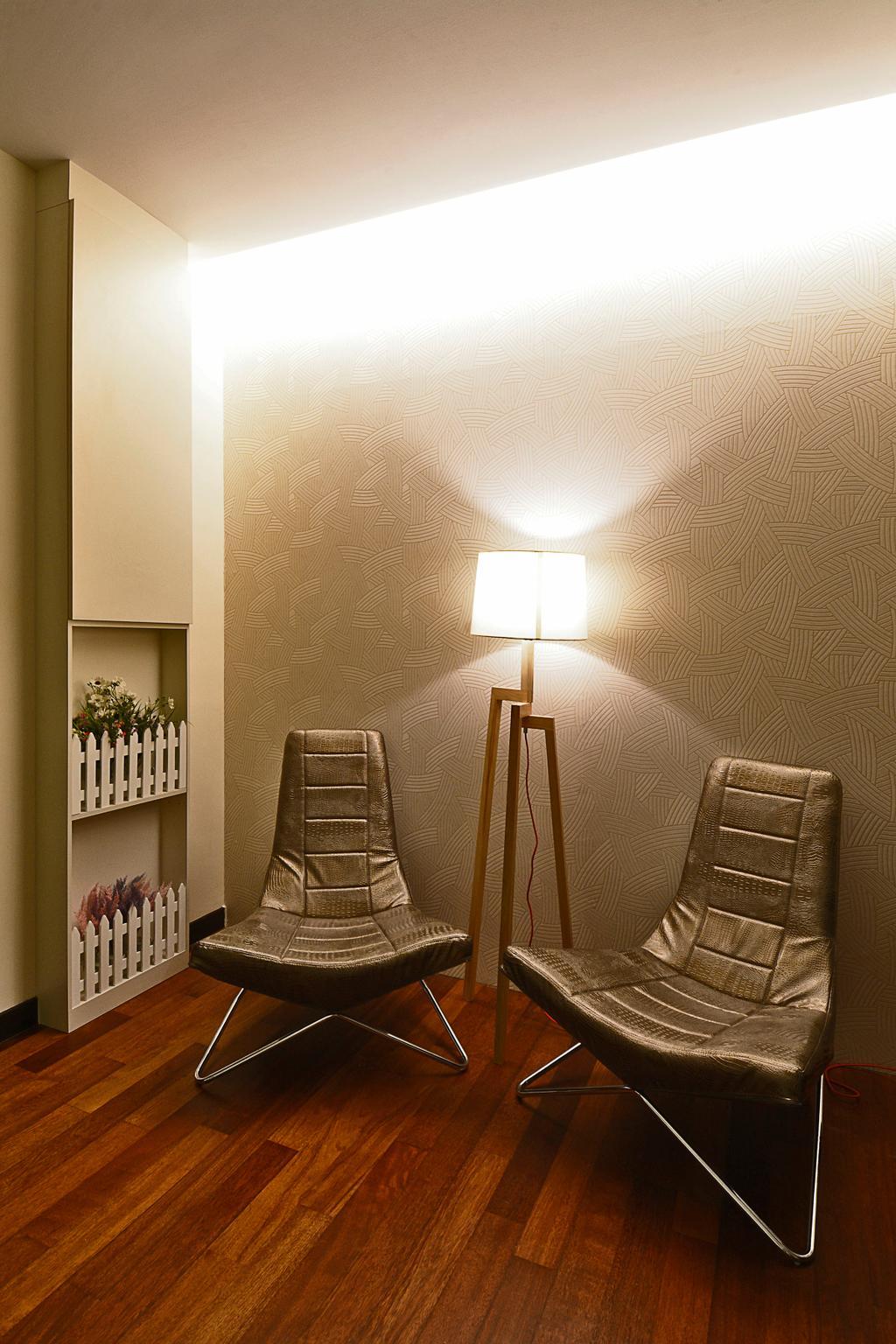 Modern, Landed, Semi-D@ Kinrara Residence Ambrosia, Interior Designer, Torch Empire, Contemporary, Chair, Furniture