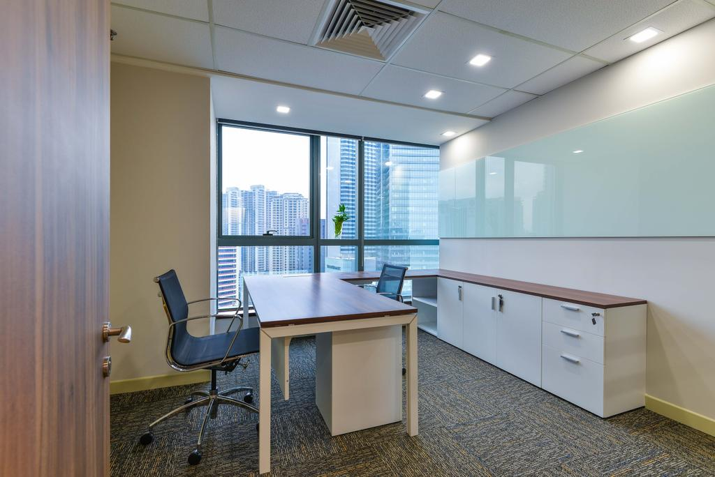 MLS Capital- G-Tower Jln Tun Razak, Commercial, Interior Designer, Torch Empire, Modern, Chair, Furniture, Dining Table, Table