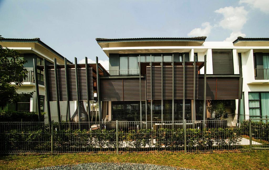 Modern, Landed, Yuva Semi-D @ Masai Johor, Interior Designer, Torch Empire, Building, Office Building