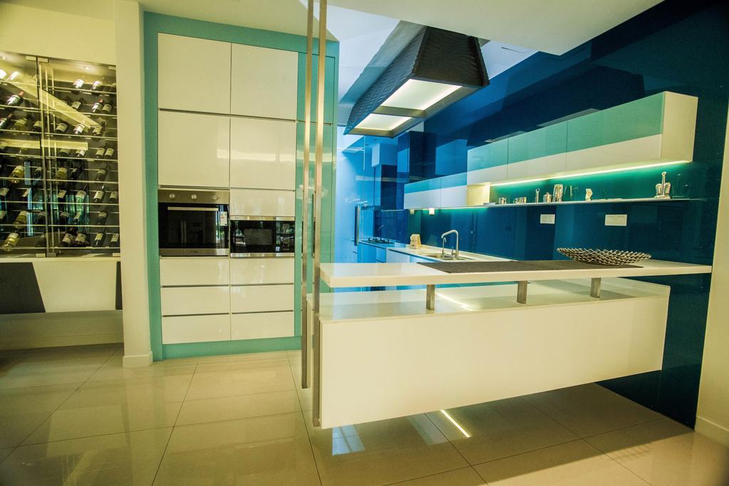 Modern, Landed, Kitchen, Yuva Semi-D @ Masai Johor, Interior Designer, Torch Empire