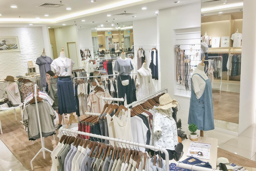 DennieYeap - Penang Gurney Plaza, DesignLah, Modern, Commercial, Boutique, Shop