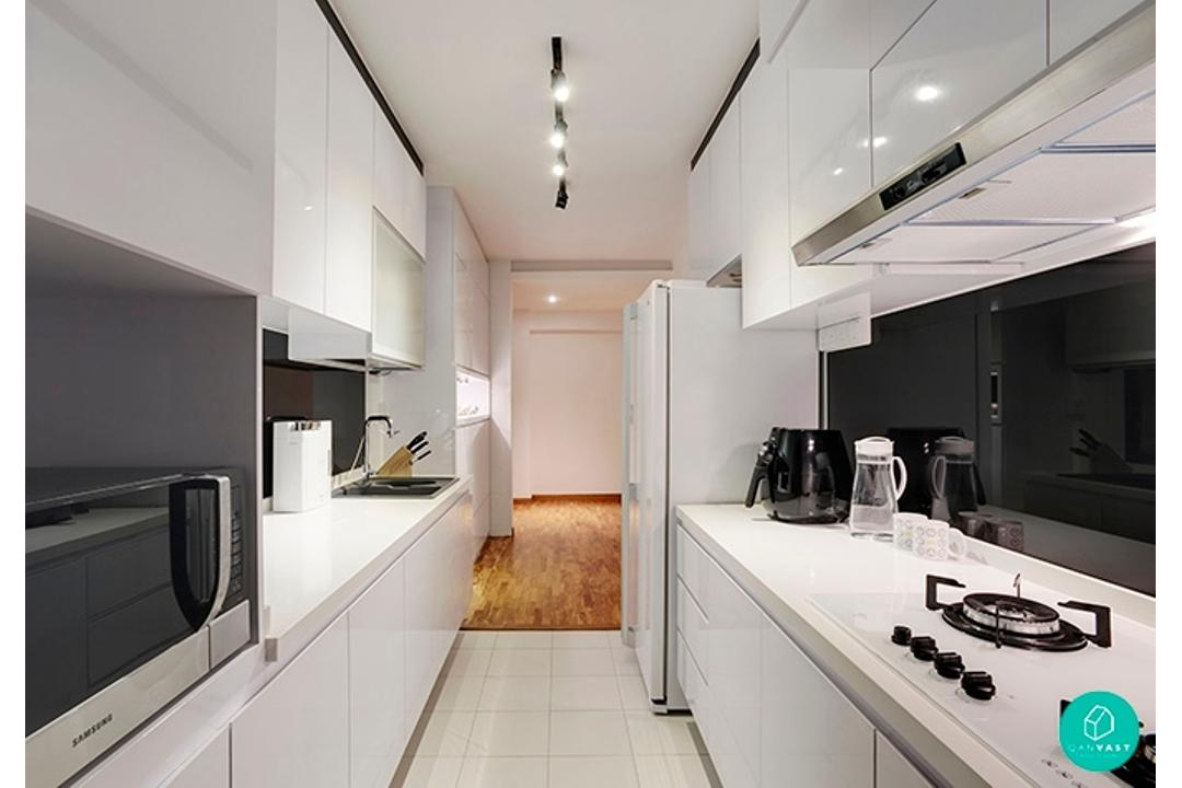 Ideal-Design-Punggol-Simple-Home-Monochrome-Kitchen