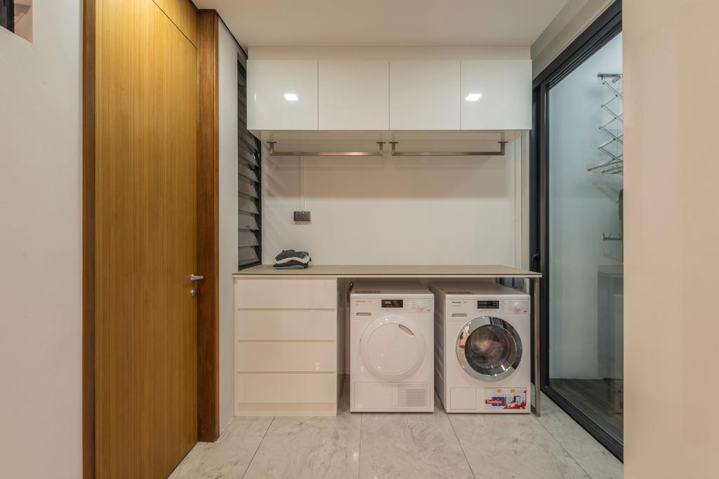 Modern, Landed, Huddington Avenue, Interior Designer, 9 Creation, Contemporary, Appliance, Electrical Device, Washer