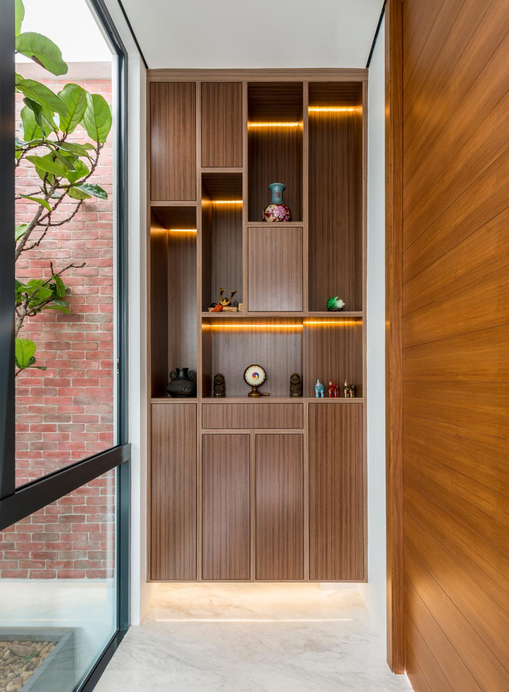 Modern, Landed, Huddington Avenue, Interior Designer, 9 Creation, Contemporary, Brick