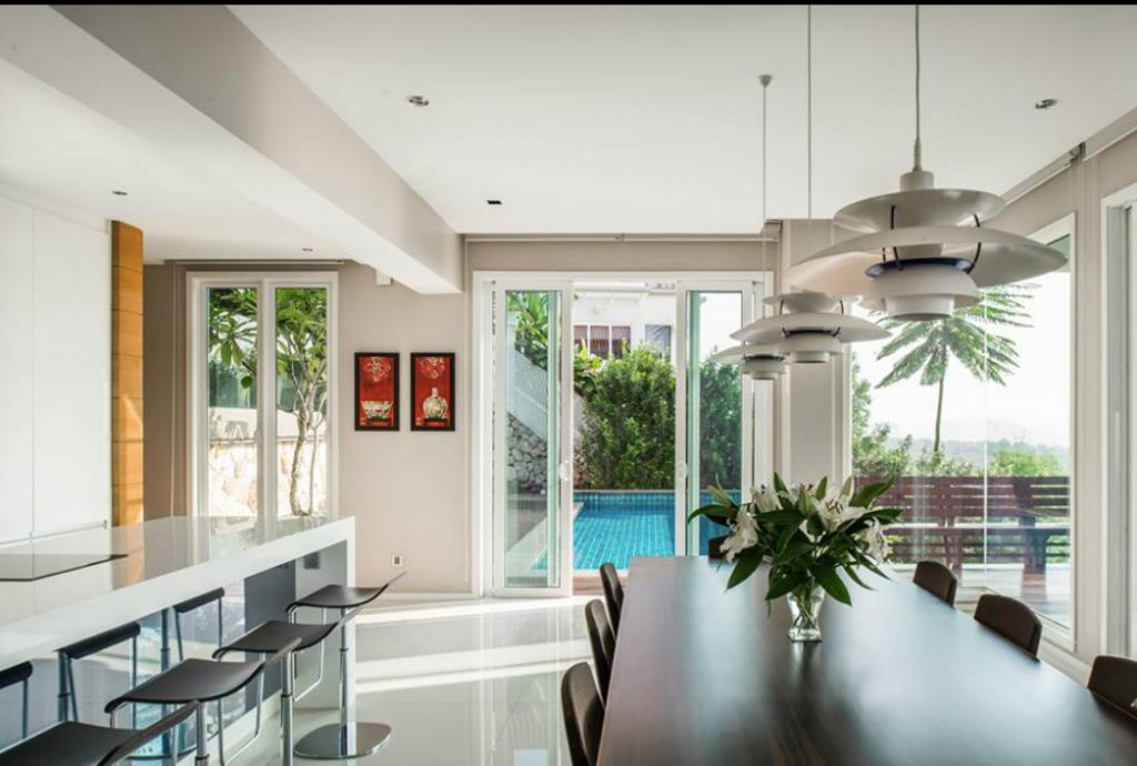 Modern, Landed, Dining Room, Alam Damai Bungalow, Interior Designer, EDI: Essential Design Integrated, Contemporary