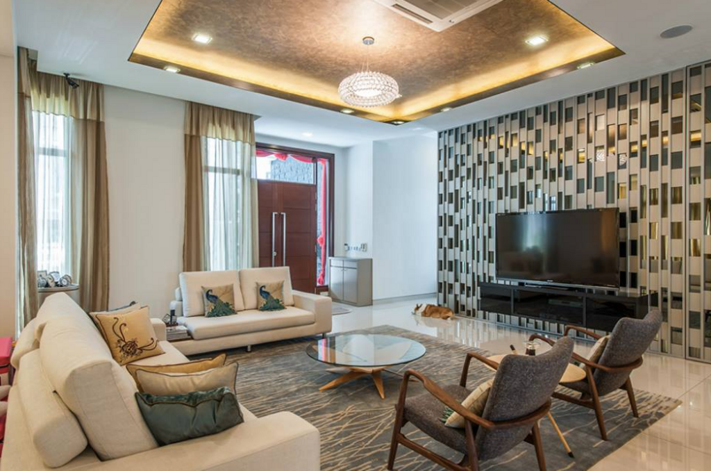Modern, Landed, Living Room, Casabella, Interior Designer, EDI: Essential Design Integrated, Contemporary