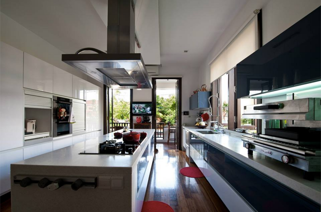 Modern, Landed, Kitchen, Dato C Residence, Interior Designer, EDI: Essential Design Integrated, Traditional, Industrial