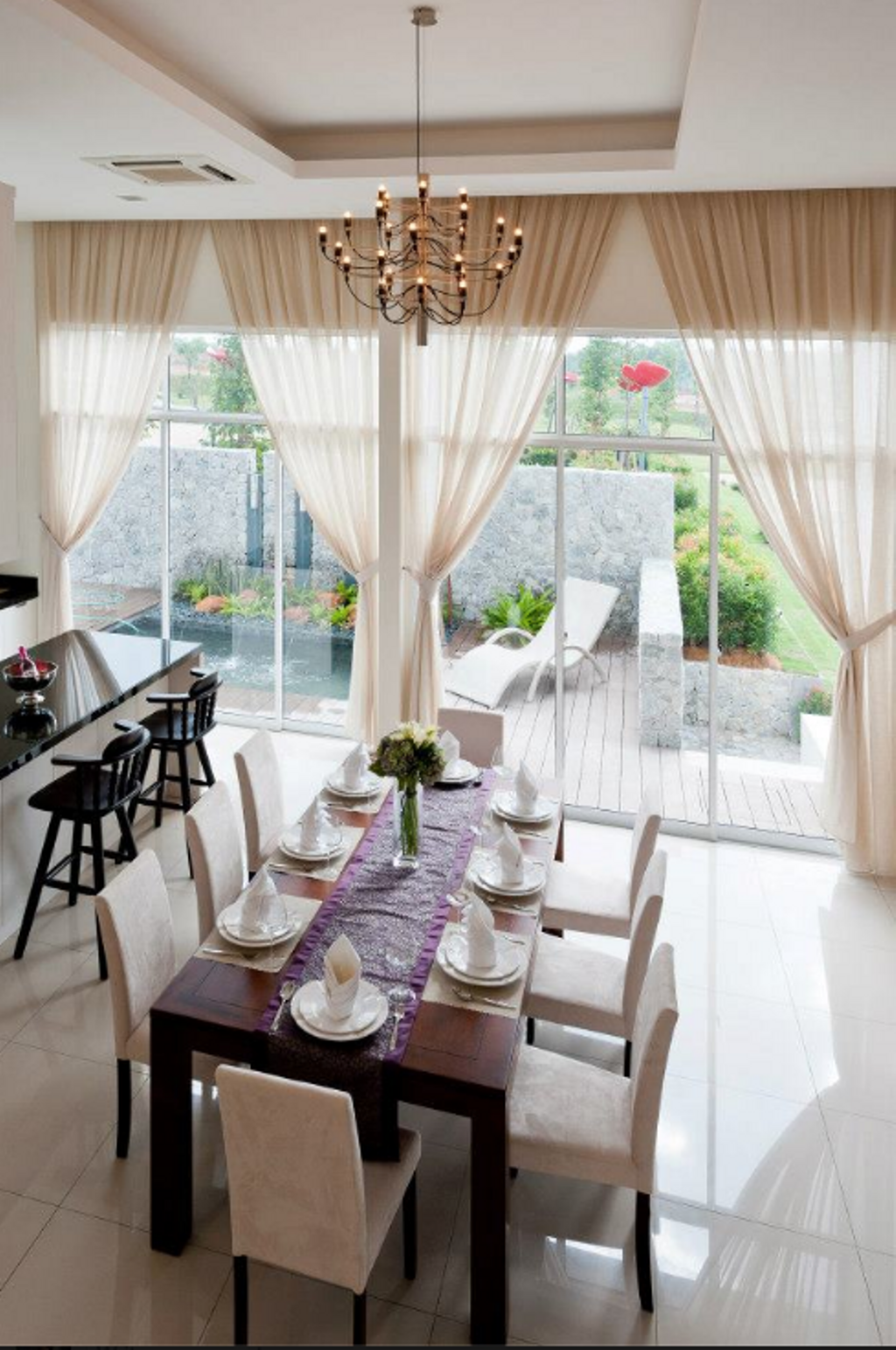 Modern, Landed, Dining Room, DNP Jesselton, Interior Designer, EDI: Essential Design Integrated